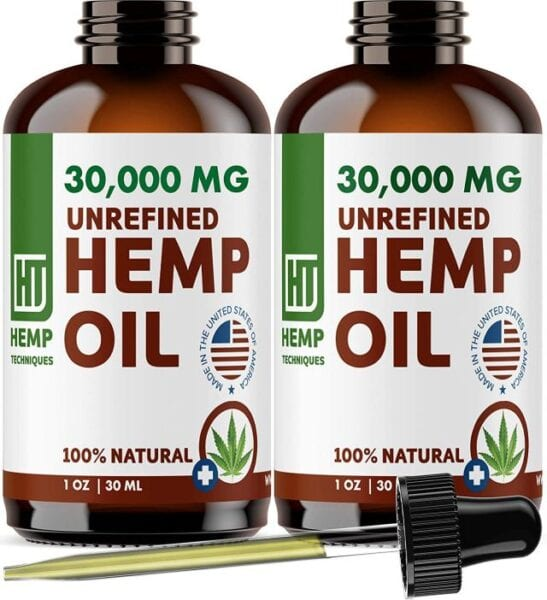 Hemp Techniques Unrefined Hemp Oil: The best product for anxiety