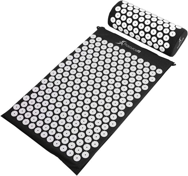 ProsourceFit Acupressure Mat and Pillow Set for anxiety