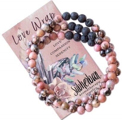 Subherban Essential Oil Bracelets: best anxiety bracelet