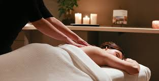 Aromatherapy massage for anxiety
